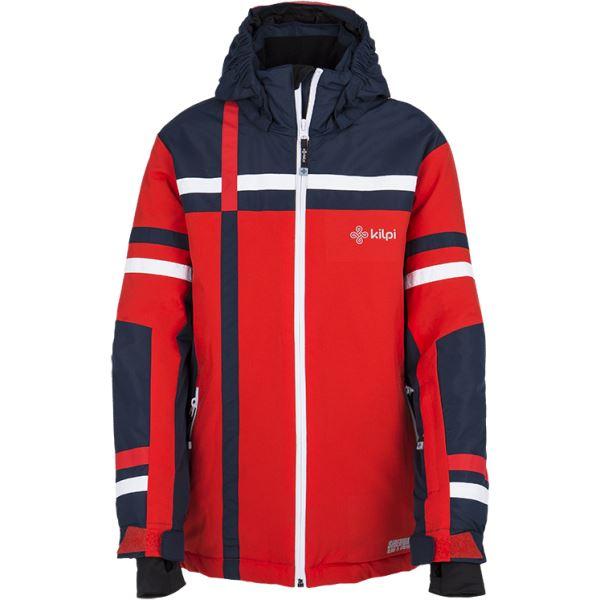 Dětské zimní lyžařská bunda KILPI TITAN-JB červená