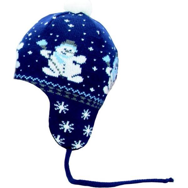 Dětská zimní čepice CAPU 2007 tmavě modrá