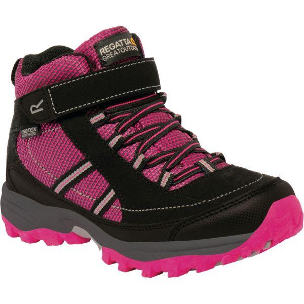Dětské boty Regatta TRAILSPACE II Mid růžová/černá