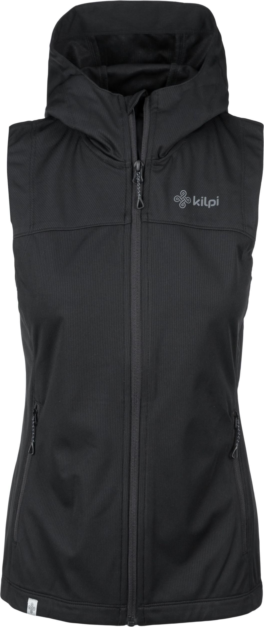 851d125000 Dámské vesta KILPI PAMIR-W černá 36