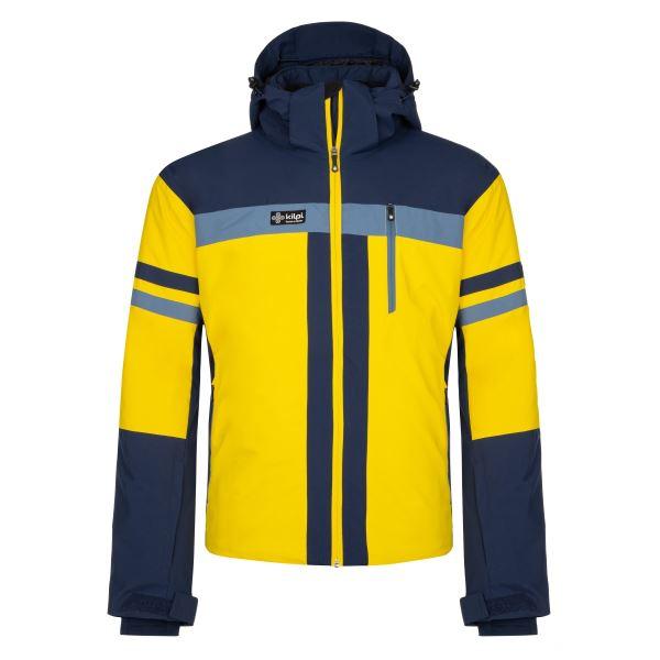Pánská zimní lyžařská bunda KILPI PONTE-M žlutá