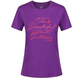 Dámské tričko Regatta Fingal III fialová