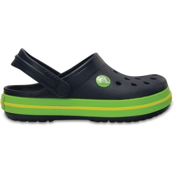 Dětské boty Crocs Kids' Crocband™ Clog tmavě modrá/zelená