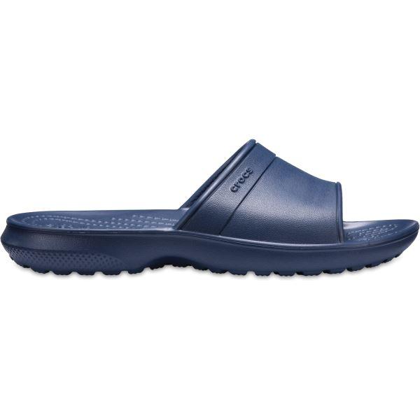 Dětské pantofle Crocs Classic Slide tmavě modrá