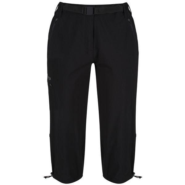 Dámské 3/4 kalhoty Regatta XERT Capri II černá