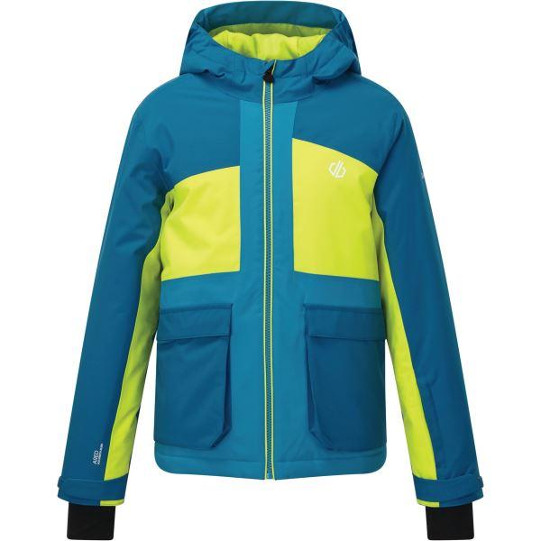 Dětská zimní bunda Dare2b ESTEEM modrá/limetková