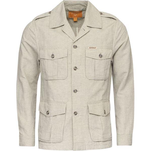 Pánská bunda BUSHMAN SARGENT krémově bílá