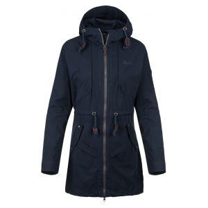 Dámský kabát KILPI PAU-W tmavě modrá (nadměrná velikost)