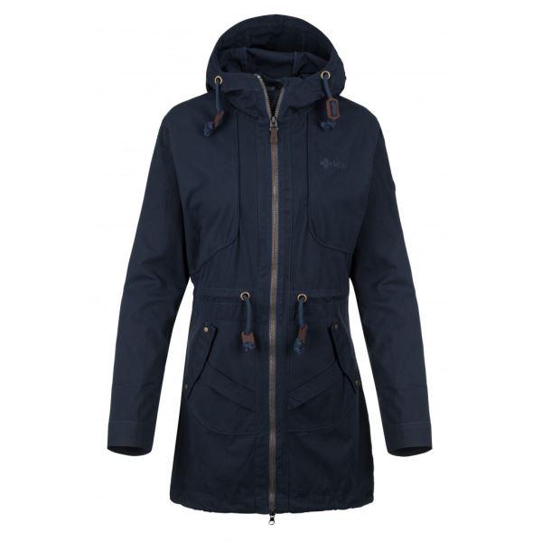 Dámský kabát KILPI PAU-W tmavě modrá
