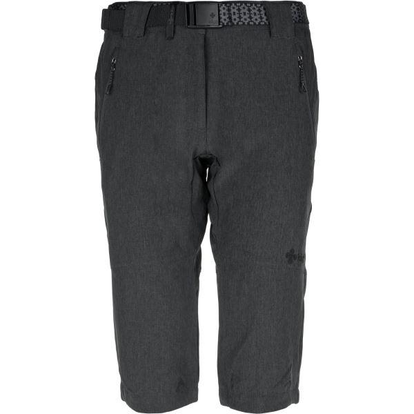 Dámské 3/4 kalhoty KILPI DALARNA-W tmavě šedá
