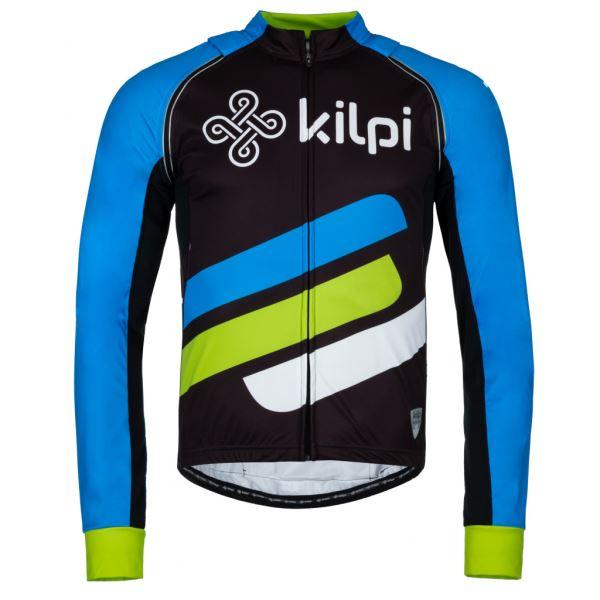 Pánská cyklistická bunda KILPI PALM-M modrá