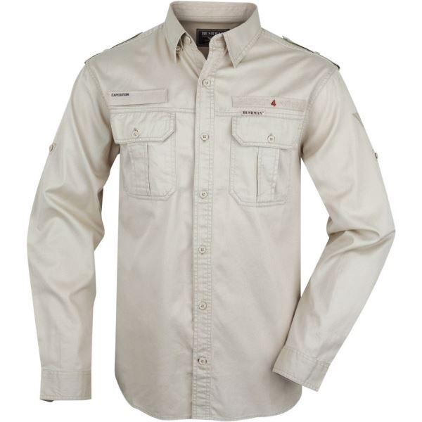 Pánská košile BUSHMAN  Hammer béžová