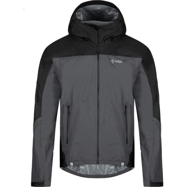 Pánská bunda KILPI HURRICANE-M tmavě šedá
