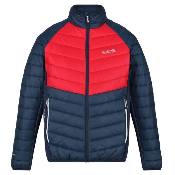 Pánská bunda Regatta HALTON IV červená/modrá