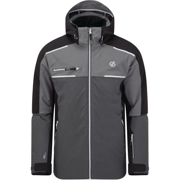 Pánská zimní bunda Dare2b INTERMIT II černá/šedá