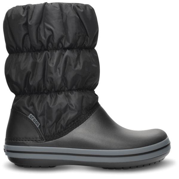Dámské zimní boty Crocs WINTER PUFF černá