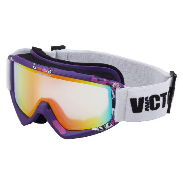 Dětské lyžařské brýle Victory SPV 630 fialová