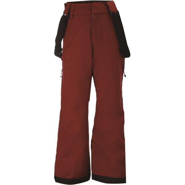 Dětské lyžařské kalhoty 2117 LAMMHULT vínově červená