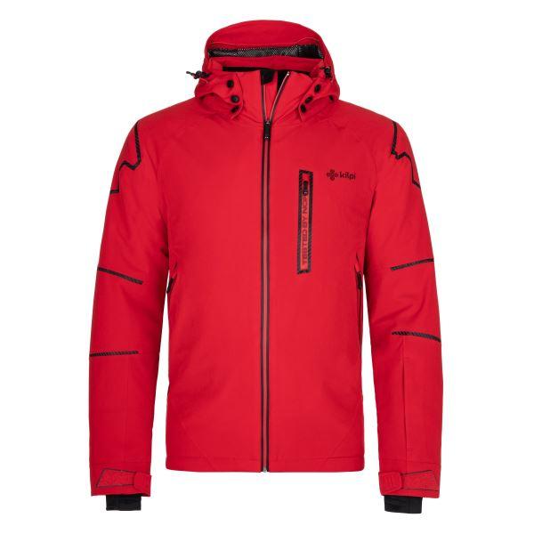 Pánská zimní lyžařská bunda KILPI TURNAU-M červená