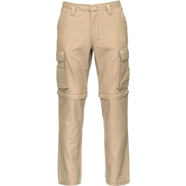 Pánské kalhoty BUSHMAN KALHOTY LINCOLN-ZIP OFF béžové