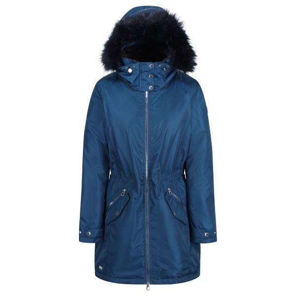 Dámský zimní kabát Regatta LEXIA modrá