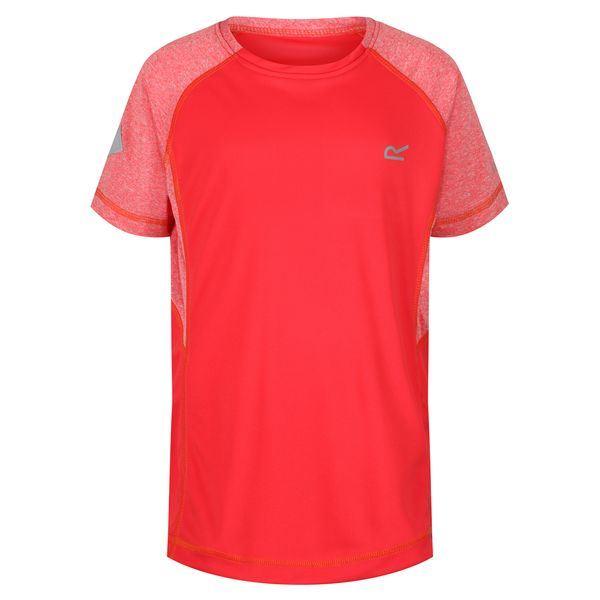 Dětské tričko Regatta DAZZLER II korálově červená