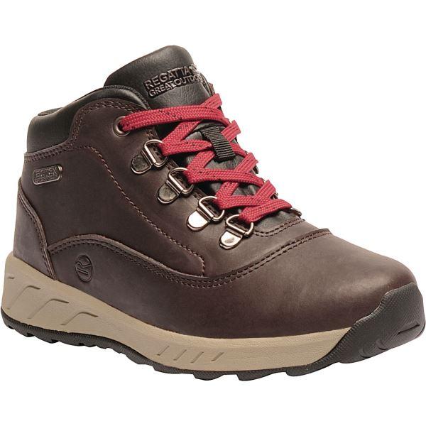 Dětské boty Regatta GRIMSHAW hnědá