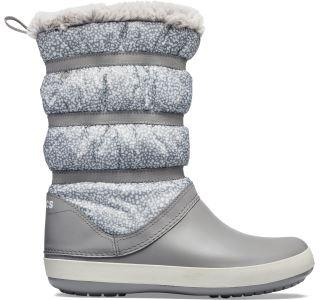 Dámské boty Crocs CROCBAND WINTER Boot šedá
