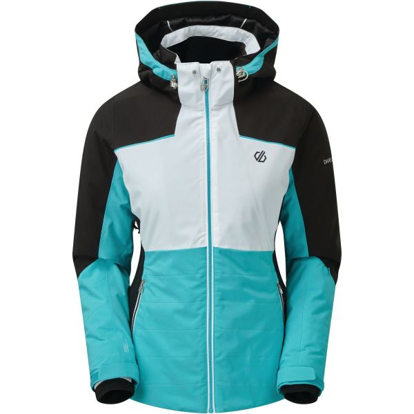 Dámská zimní bunda Dare2b FLOURISH modrá/bílá