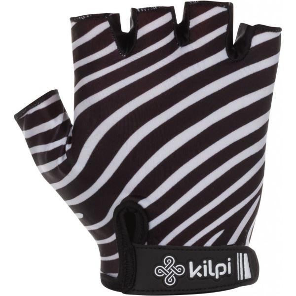 Dámské cyklistické rukavice KILPI SAVAGE-W černá