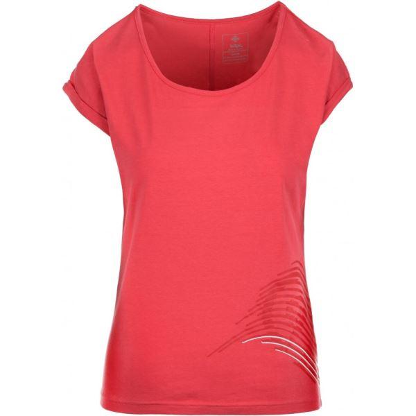 Dámské tričko KILPI OLIVA-W růžová
