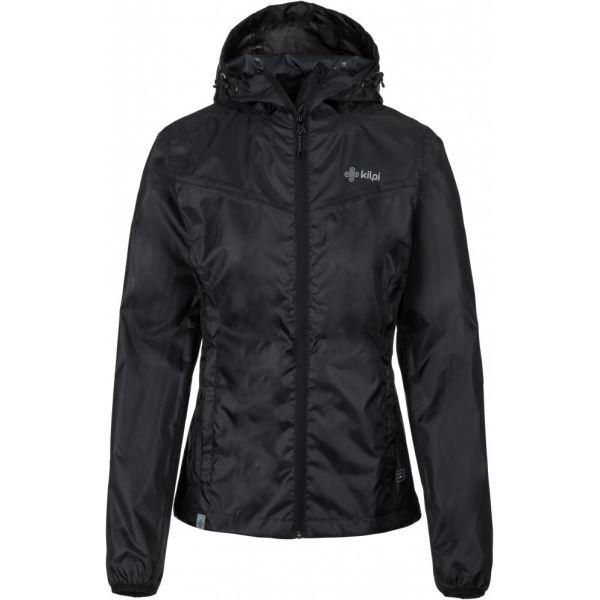 Dámská bunda KILPI DENERI-W černá (nadměrná velikost)