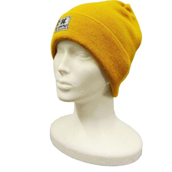 Pánská zimní čepice CAPU 1703 žlutá