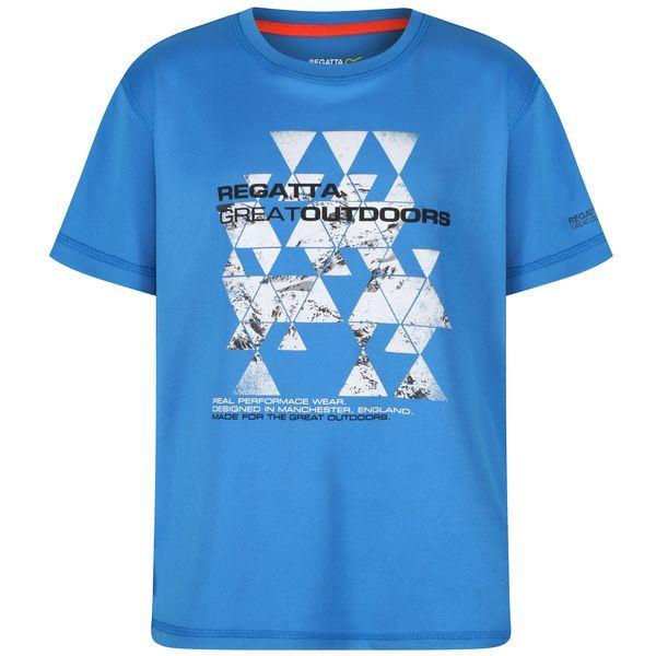 Dětské funkční tričko Regatta ALVARADO III modrá