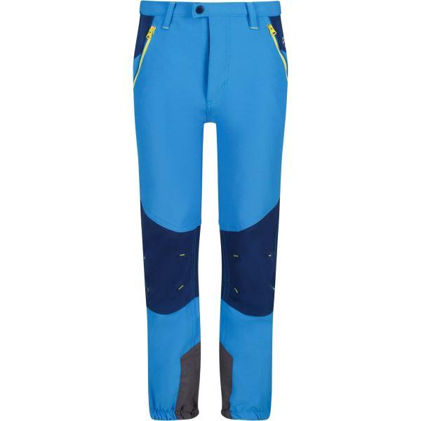 Dětské kalhoty Regatta TECH MOUNTAIN modrá